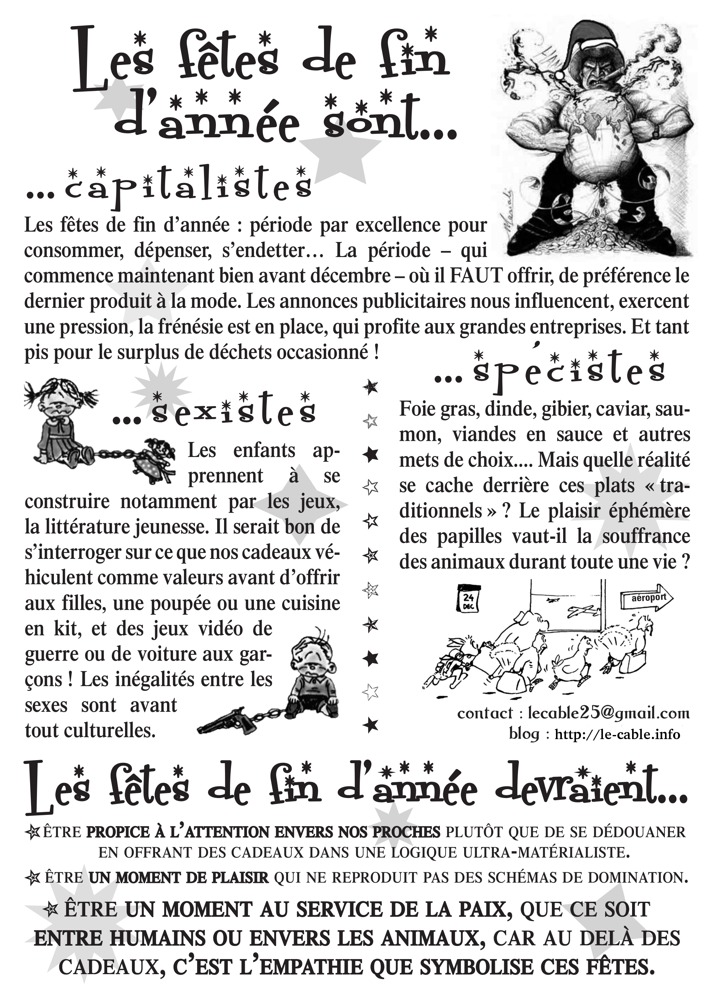 Tract fêtes